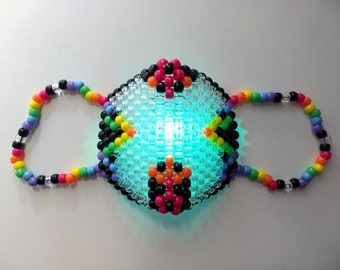 LED Excision Kandi Mask