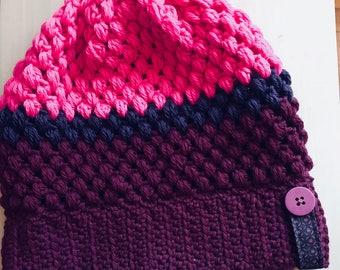 Winter Beanie Hat 100% Merino Wool