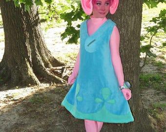 Adult size troll dress inspired by Poppy
