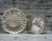 Lot #1 of Vintage Glass Buttons
