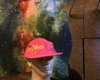Vintage The Oak Ridge Boys Revival Pink Snap Back Hat