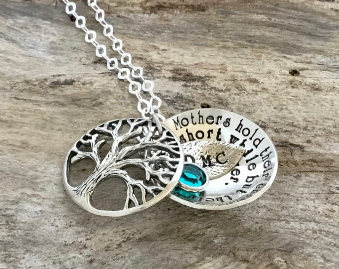 Tree-of-Life Necklace | Sterling Silver Tree of Life Necklaces | Tree of Life Pendant | Tree of Life | Family Tree of Life Necklace