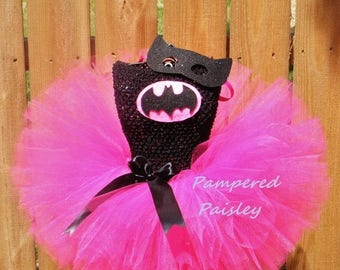 Halloween sale Superhero  tutu dress - bat costume Halloween - Birthday costume size newborn to adult- costume