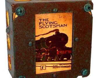 The Flying Scotsman Railroad Night Light, Industrial Lighting