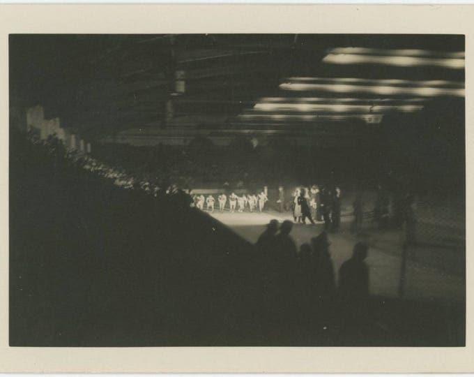 Track Meet, c1950s: Vintage Snapshot Photo (712626)