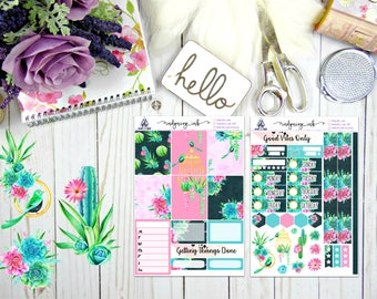 Succulents & Cacti Mini Kit (Personal||Travel Note||BUJO)