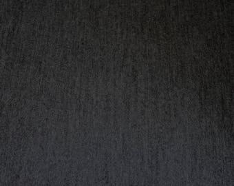 Dark grey stretch knit fabric