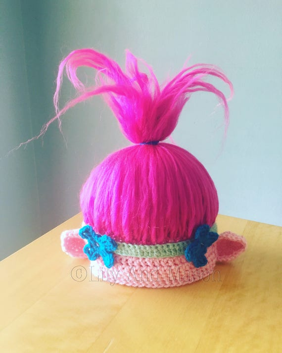 Crochet Pattern For Troll Hat : Poppy Troll Hat Poppy Troll Troll Hat Poppy Hat Trolls