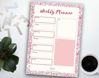 A5 or Letter wo1  printable Inserts | Filofax, Kikki K or similar planners