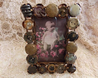 Handcrafted METAL ART/Picture Frame/Victorian