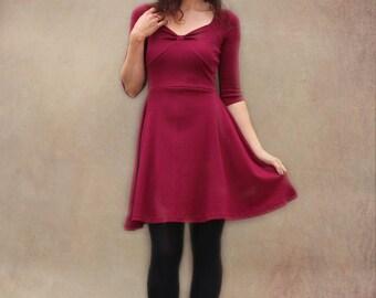 Red Garnet Pauline dress