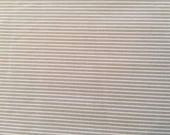 Taupe Stripe By Creative Thursday for  Andover Fabrics