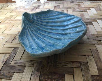 Handmade Trinket - Condiment Dish in Turquoise Blue