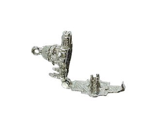 Sterling Silver Opening St Paul's Cathedral Charm For Bracelets