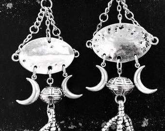 Talons of the Moon Earrings