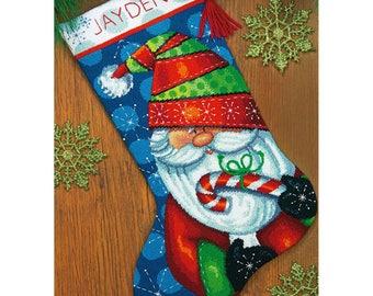 Sweet Santa Stocking Needlepoint Kit