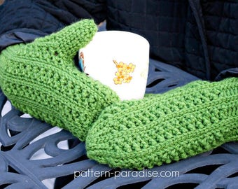 Crochet Pattern for Mittens, Winter Haven Collection, Toddler, Child, Adult PDF 17-340