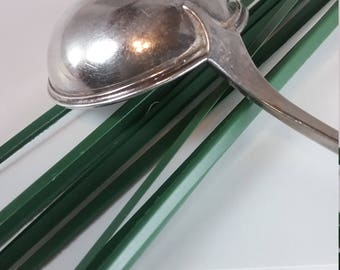 A. AMUNDSEN 830 S Silver Soup Spoon from Norway