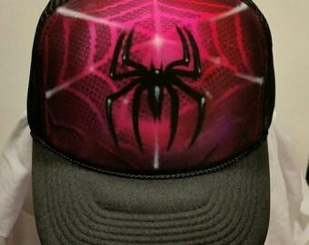 Spider Airbrush Hat