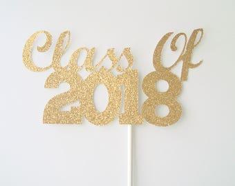 Class of 2018 Centerpiece Stick, 2018 Graduation Centerpiece Stick, Graduation Party Decorations, 2018 Graduation Wand, Graduation