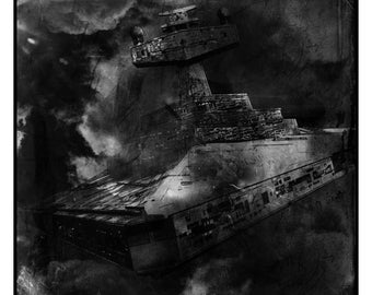 Star Wars Star Destroyer Photographic Print