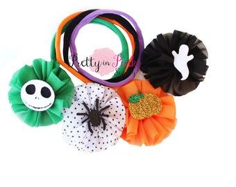 Halloween  D.I.Y Headband Kit #438 - Nylon Baby Headbands - Baby Shower Games - Baby Shower Station