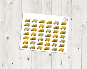 School Bus Stickers - ECLP Stickers