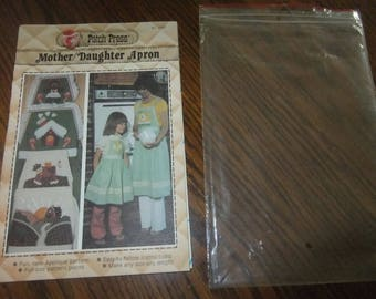 MOTHER AND DAUGHTER Apron Pattern by Patch Press No. 339C