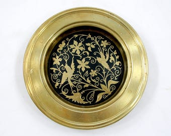 Vintage Brass Trinket Dish or Ashtray