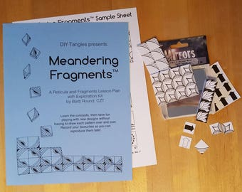 Meandering Fragments™ Lesson Plan and Exploration Kit