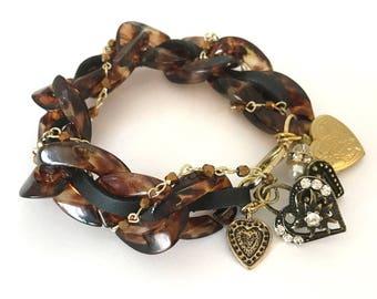 The Dark tones bracelet