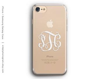 iPhone 8 Case, iPhone X Case, iPhone 8 Plus Case, iPhone 7 Case, iPhone 6 Case, iPhone 7 Plus Case, Monogram, Samsung Galaxy Case, Galaxy S8
