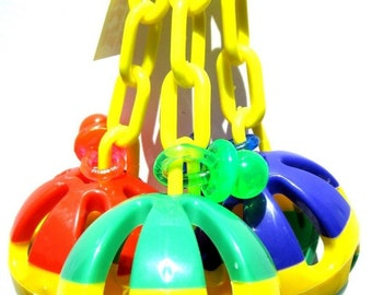 1273 Tri-Chain Ball Bird Toy
