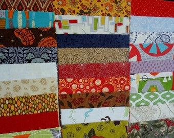 "Moda Fabrics 10"" Square Collection 30 Pieces Layer Cake Fabric Bundle Pre-Cut Fabric"