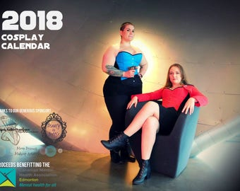 2018 cosplay calendar