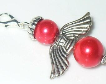1 pendant Angel Red 5 cm