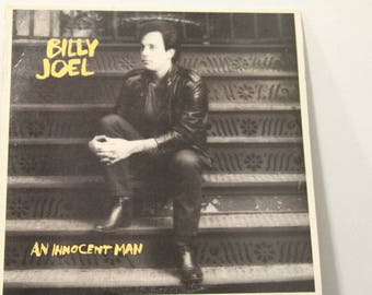 "Billy Joel - ""An Innocent Man"" vinyl record ft. ""Uptown Girl"""