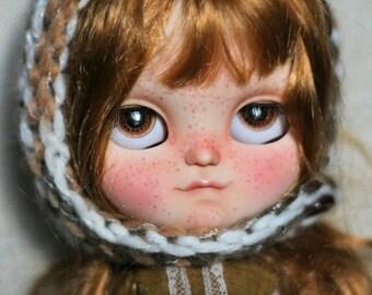 Clara. OOAK Doll helado personalizado.