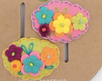 Gorgeous Baby Floral FLower Hair Clip Set