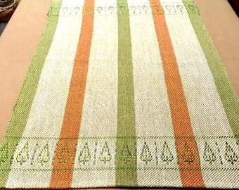Cyprus Tree Pattern Table Runner