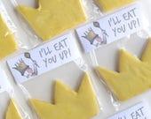 I'll Eat You Up Cookie Bag Label