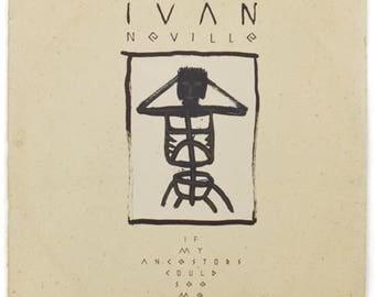 Vintage 80s Ivan Neville If My Ancestors Could See Me Now Album Record Vinyl LP