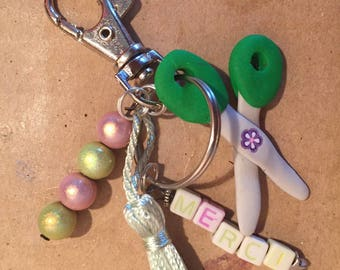 Keychain or to say thank you for lucky master teacher
