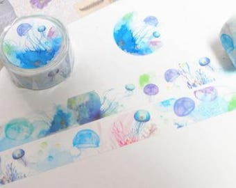 Jellyfish Washi Tape - Kamito