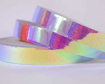 Holo Glitter Pink Sky Color shifting Morph Taped Performance Hula Hoop Polypro or HDPE