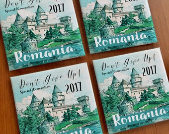 Romania Special Convention Magnets :) 25-250  jw ministry - best life ever - jw print - happiertogive - jw pioneer gifts