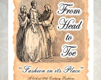 Fashion in its Place – booklet - 2004 Historic Clothing Exhibit in the period rooms of Pottsgrove Manor