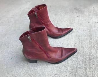 Vintage Harley Boots