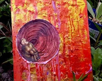 Monkey womb painting