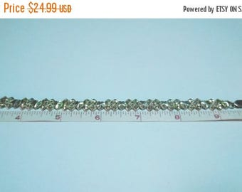 """10% OFF 3 day sale 7"""" Hugs and Kisses Bracelet Stamped Beverly Hills Silver 925 14.6g - Gently Used"""